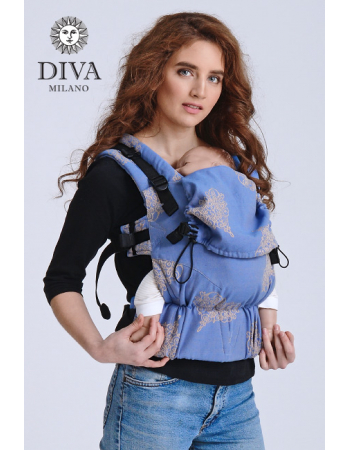 Diva Basico Wrap Conversion Buckle Carrier: Azzurro, The One!
