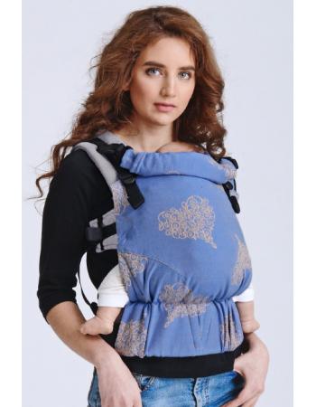Diva Half Wrap Conversion Buckle Carrier: Basico Azzurro, The One!