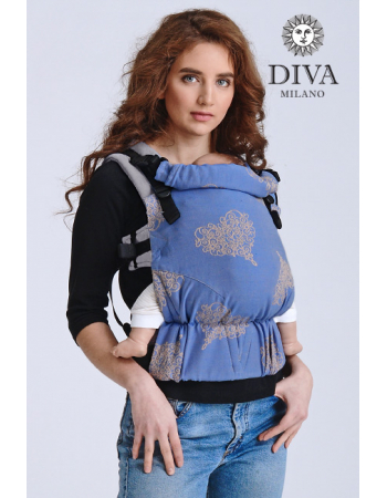 Diva Half Wrap Conversion Buckle Carrier: Basico Azzurro, The One!