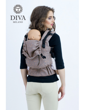 Diva Basico Wrap Conversion Buckle Carrier: Basico Cacao, The One!