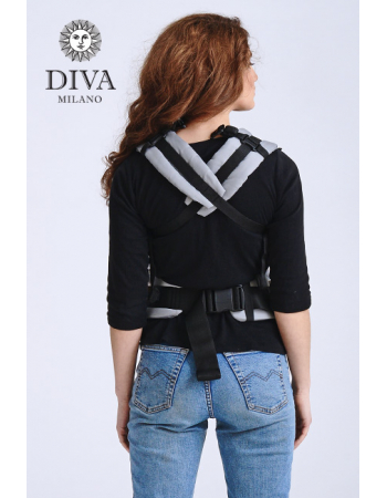 Diva Half Wrap Conversion Buckle Carrier: Basico Aurora, The One!