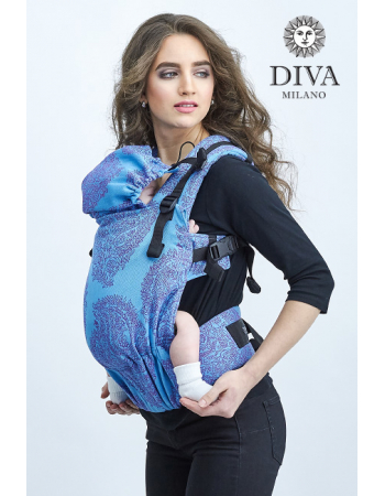 Diva Essenza LE Wrap Conversion Buckle Carrier: Oceano