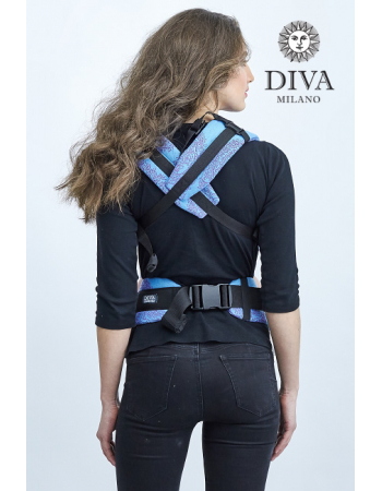 Diva Essenza Wrap Conversion Buckle Carrier: Celeste Bamboo, The One!