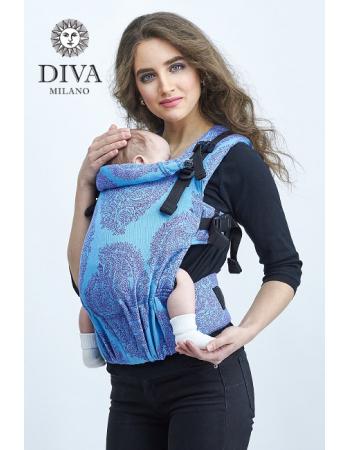 Diva Essenza LE Wrap Conversion Buckle Carrier: Oceano