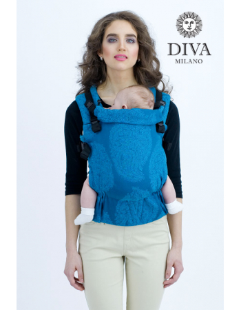 Diva Essenza Wrap Conversion Buckle Carrier: Ceruleo, The One!