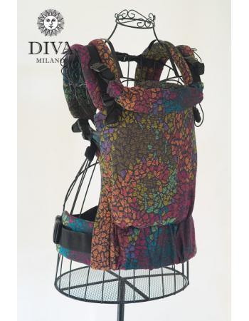 Diva Didymos LE Wrap Conversion Buckle Carrier: Mosaic