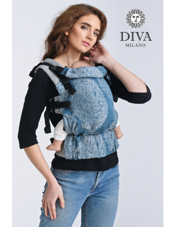 Diva Half Wrap Conversion Buckle Carrier: Eclipse Linen, The One!