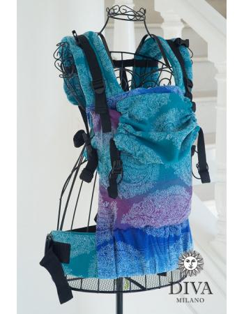 Diva Essenza LE Wrap Conversion Buckle Carrier: Fantasia