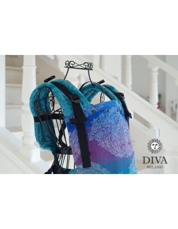 Diva Essenza LE Wrap Conversion Buckle Carrier: Fantasia