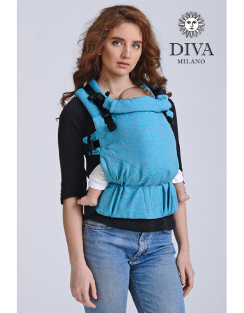 Diva Basico Wrap Conversion Buckle Carrier: Basico Lago, The One!