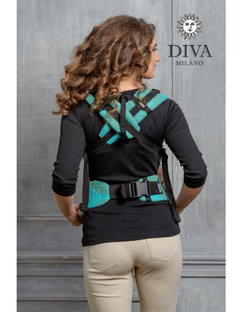 Diva Essenza Wrap Conversion Buckle Carrier: Menta LE, The One!