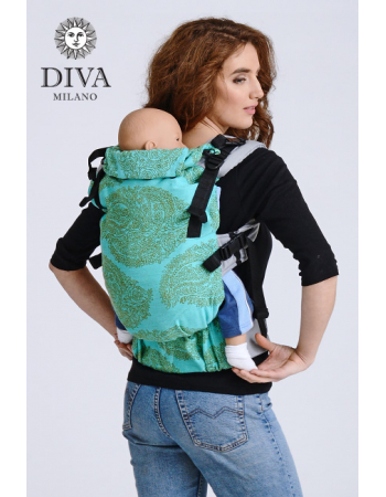 Diva Half Wrap Conversion Buckle Carrier: Menta, The One!