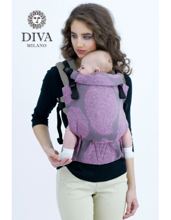 Diva Half Wrap Conversion Buckle Carrier: Essenza Perla, The One!