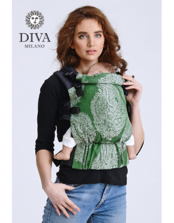 Diva Half Wrap Conversion Buckle Carrier: Pino Bamboo, The One!