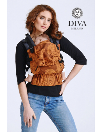 Diva Half Wrap Conversion Buckle Carrier: Terracotta, The One!
