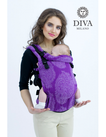 Diva Essenza Wrap Conversion Buckle Carrier: Viola, The One!