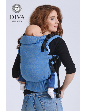 Diva Basico Wrap Conversion Buckle Carrier: Basico Zaffiro, The One!