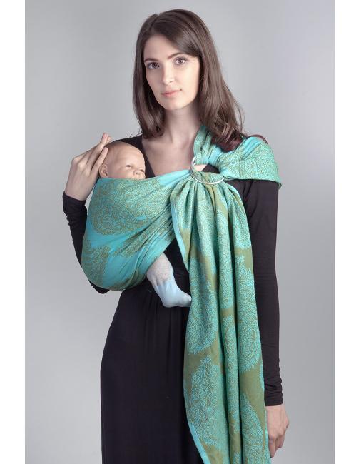 Diva Essenza 100 Cotton Menta Baby Carrier Baby Wrap