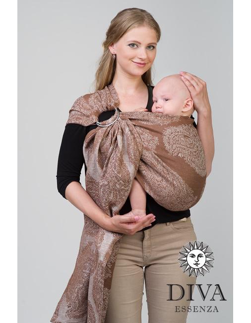 d2d86848a71 Diva Essenza Linen Ring Sling - Baby Carrier