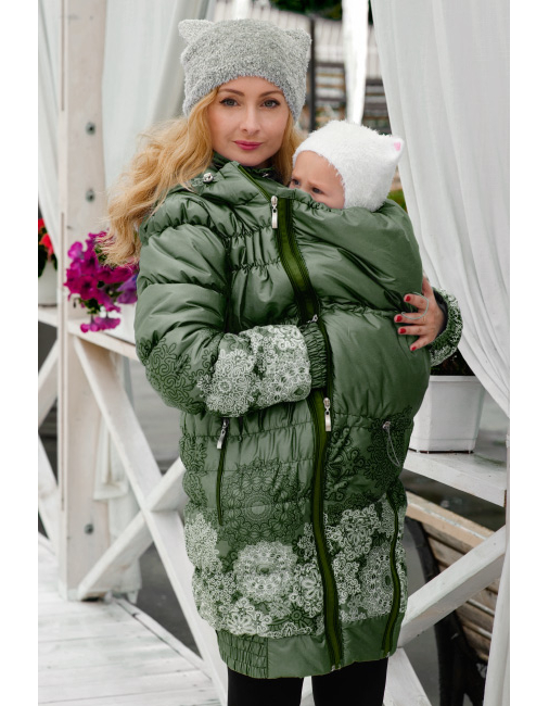 51ebe908e81ec Babywearing Coat 3 in 1: babywearing and maternity winter coat