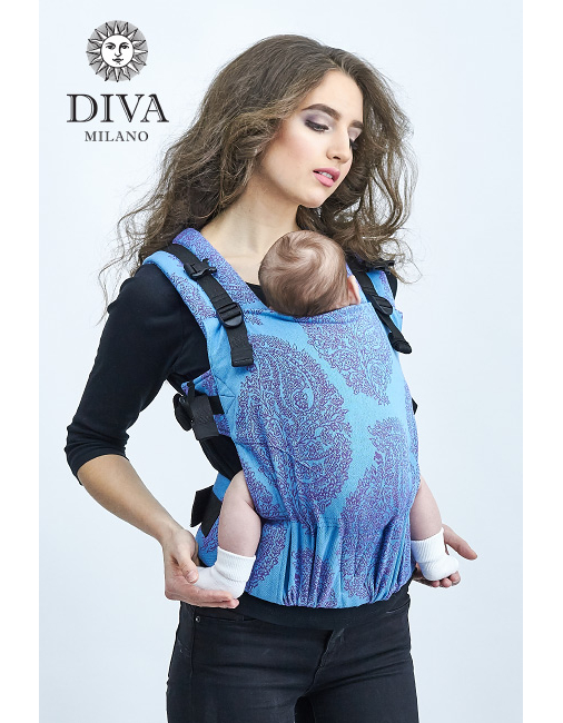 Diva Essenza Wrap Conversion Buckle Carrier: Celeste