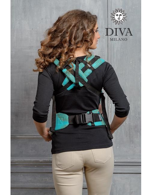 Diva Essenza Wrap Conversion Buckle Carrier: Menta