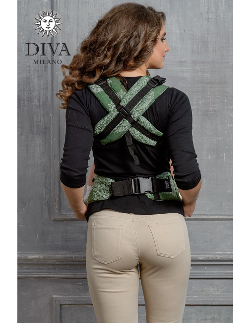 Diva Essenza Wrap Conversion Buckle Carrier: Pino Bamboo